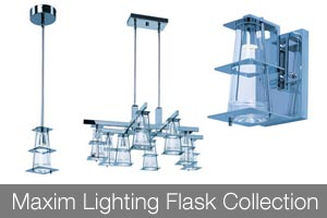 Maxim Lighting Flask Collection