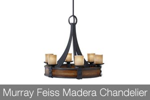 Murray Feiss Madera Chandelier