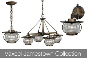 Vaxcel Lighting Jamestown Collection