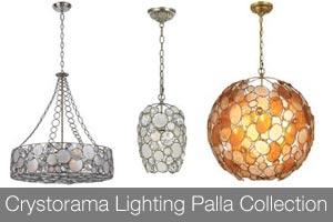 Crystorama Lighting Palla Collection