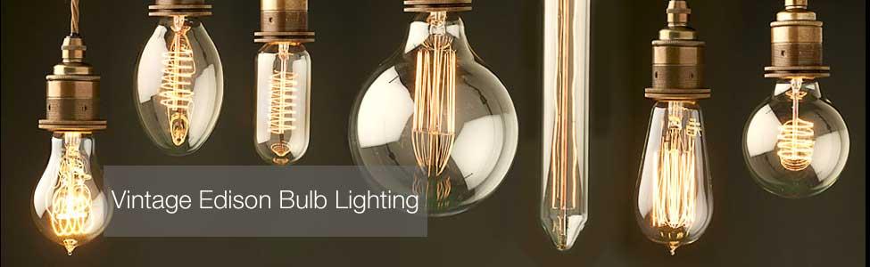 Vintage Edison Bulb Lighting